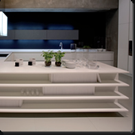 Kitchen design using Corian