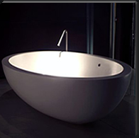 Sink made of Corian